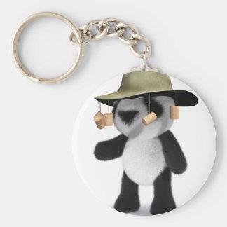 panda del bebé 3d en Australia Llaveros Personalizados