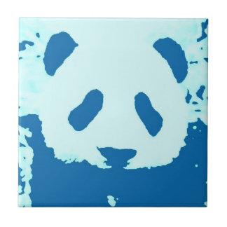 Panda del bebé azulejo cuadrado pequeño