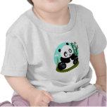 Panda del bebé camisetas