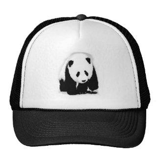 Panda del bebé del arte pop gorro de camionero