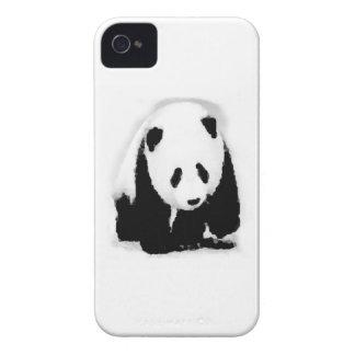 Panda del bebé del arte pop iPhone 4 cárcasa