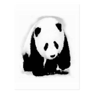 Panda del bebé del arte pop postales