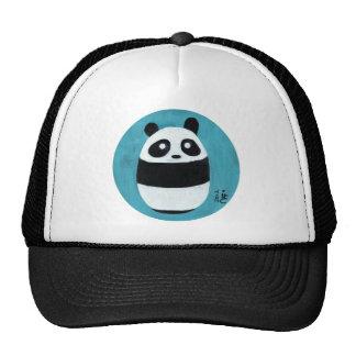 Panda del bebé gorros bordados