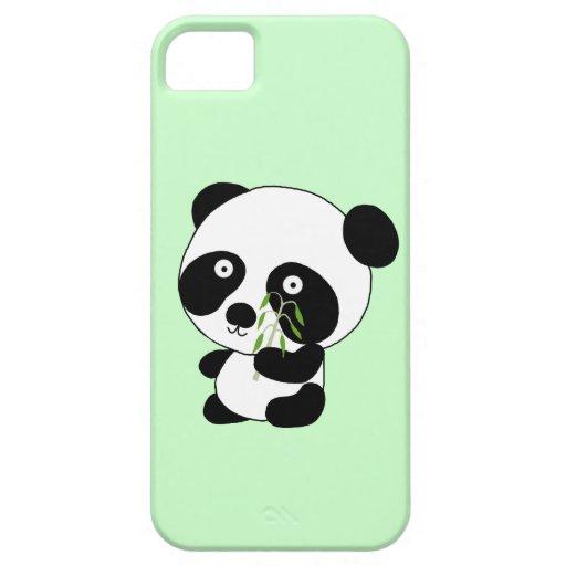 Panda del bebé iPhone 5 Case-Mate protectores