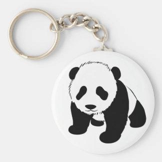 Panda del bebé llavero personalizado