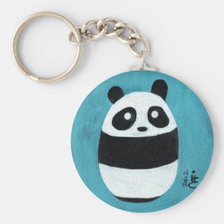 Panda del bebé llaveros personalizados