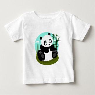 Panda del bebé playera de bebé