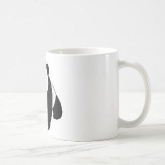 Panda del bebé tazas de café