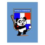 Panda del béisbol de la República Dominicana Postal