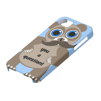 panda del bigote iPhone 5 cobertura