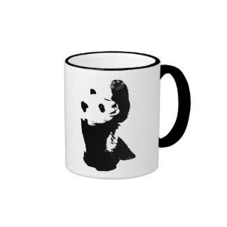 panda del caneca taza de dos colores