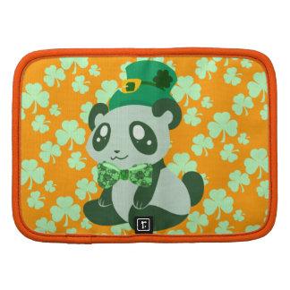 Panda del día de St Patrick Planificador
