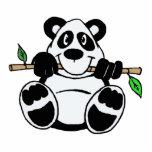 Panda del dibujo animado escultura fotografica