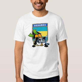 Panda del equipo de submarinismo de Bahamas Polera