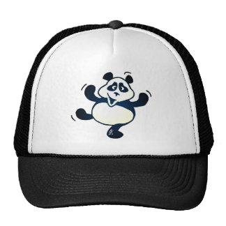 Panda del fiesta gorra