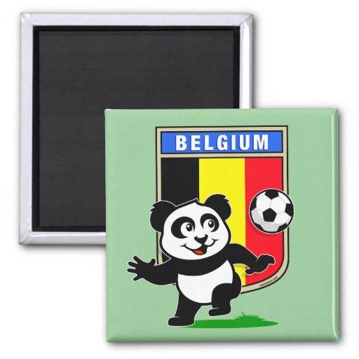 Panda del fútbol de Bélgica Iman