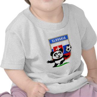 Panda del fútbol de Eslovaquia Camisetas