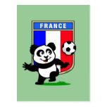 Panda del fútbol de Francia Postal