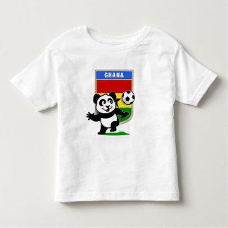 Panda del fútbol de Ghana Playera De Bebé
