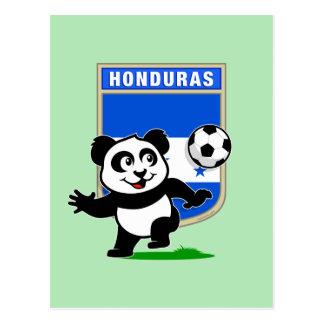 Panda del fútbol de Honduras Postal