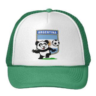 Panda del fútbol de la Argentina Gorro