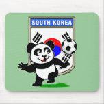 Panda del fútbol de la Corea del Sur Tapete De Raton