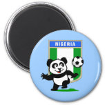 Panda del fútbol de Nigeria Iman De Frigorífico