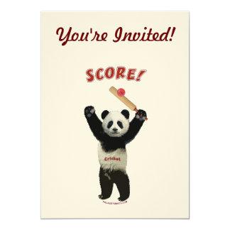 Panda del grillo de la cuenta anuncio