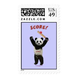 Panda del grillo de la cuenta franqueo