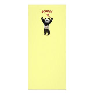 Panda del grillo de la cuenta tarjeta publicitaria a todo color