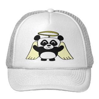 Panda del muchacho poco ángel gorra