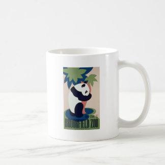 Panda del parque zoológico de Brookfield Taza De Café