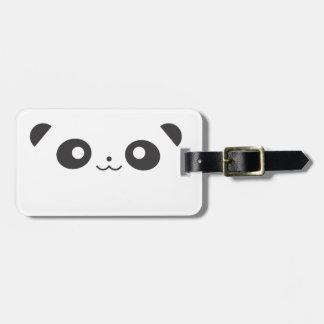 Panda del Peekaboo Etiqueta Para Equipaje
