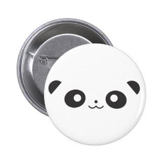 Panda del Peekaboo Pin Redondo De 2 Pulgadas