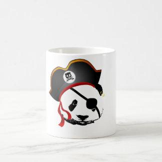 Panda del pirata taza de café