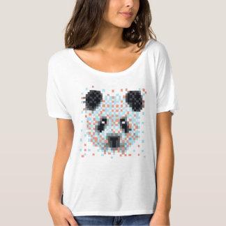 Panda del pixel camisas