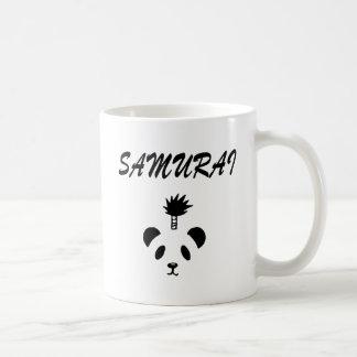 Panda del samurai taza de café