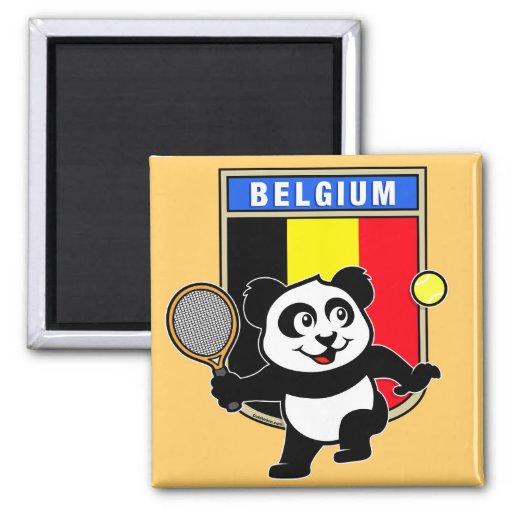 Panda del tenis de Bélgica Iman De Nevera