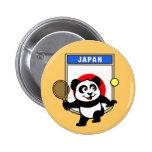Panda del tenis de Japón Pin