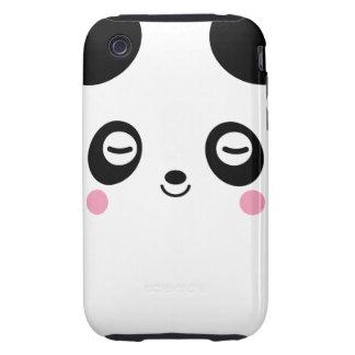 Panda del tiempo de la siesta carcasa resistente para iPhone