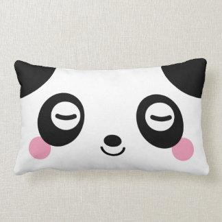 Panda del tiempo de la siesta cojines