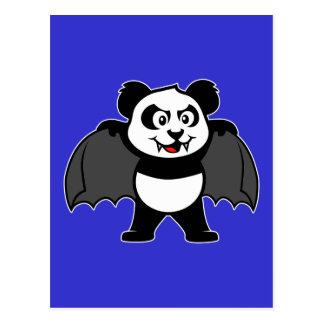 Panda del vampiro tarjeta postal