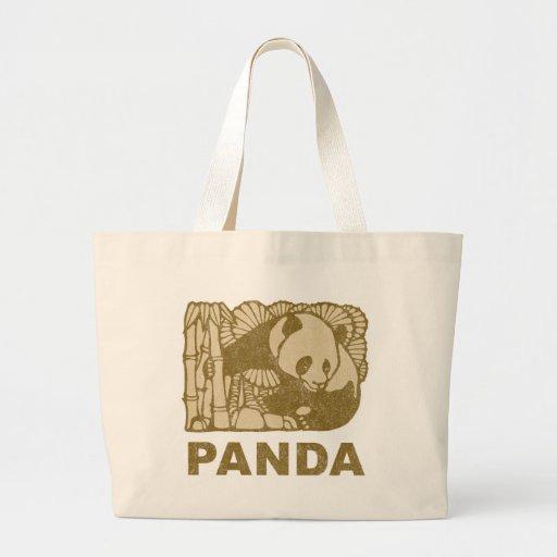 Panda del vintage bolsa