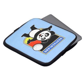 Panda del voleibol de Alemania Manga Portátil