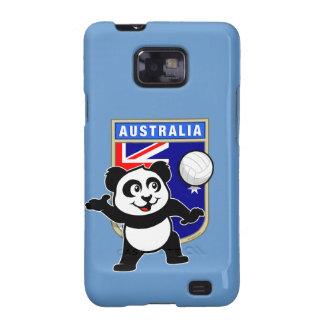 Panda del voleibol de Australia Samsung Galaxy SII Carcasa