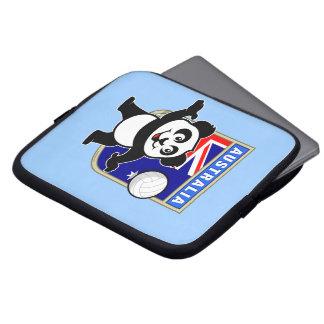 Panda del voleibol de Australia Funda Ordendadores