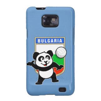 Panda del voleibol de Bulgaria Samsung Galaxy S2 Fundas
