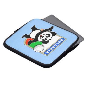 Panda del voleibol de Bulgaria Funda Portátil