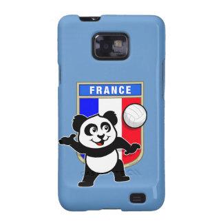 Panda del voleibol de Francia Samsung Galaxy SII Funda