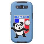 Panda del voleibol de Francia Galaxy S3 Carcasas